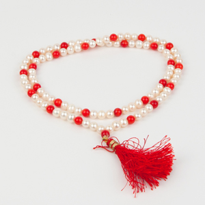 Moonga-Moti Mixed Mala